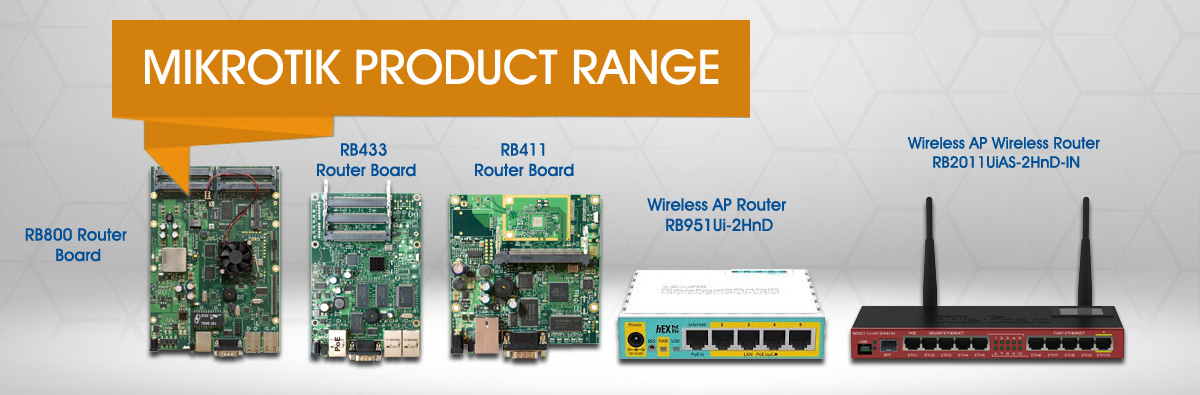 Mikrotik RB912 Customizable Router Board
