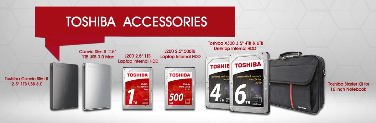 Toshiba Accessories