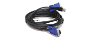 DKVM-CU KVM Cable With Monitor USB Cables - 1.8m