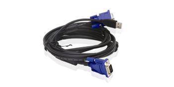 DKVM-CU5 2 in 1 USB KVM Cable 5m