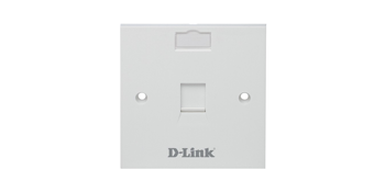 NFP-0WHI11 D-link Single Port Faceplate