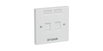 NFP-0WHI21 D-link Dual Ports Faceplate