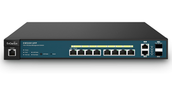 Engenius EWS5912FP 8 Port Managed Gigabit 130W PoE + Switch​