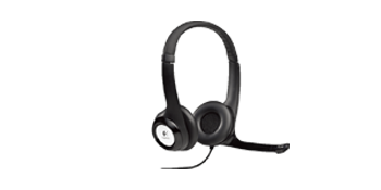 Logitech ClearChat H390 Wired Stereo Headset