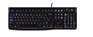 Logitech K120 Keyboard Black USB