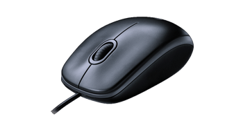 Logitech Mouse M90 Optical Wired USB Scroll