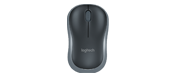 Logitech M185 Mouse Optical Wireless Grey - Radio