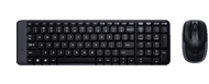 Logitech Wireless Combo MK220 Keyboard & Mouse USB Wireless