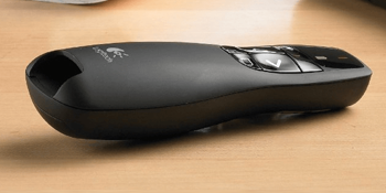 Logitech Wireless Presenter R400 with Red Laser Pointer