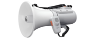 TOA  15W Shoulder Type Megaphone with Whistle
