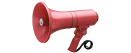 TOA 5W Hand Grip Megaphone with Siren